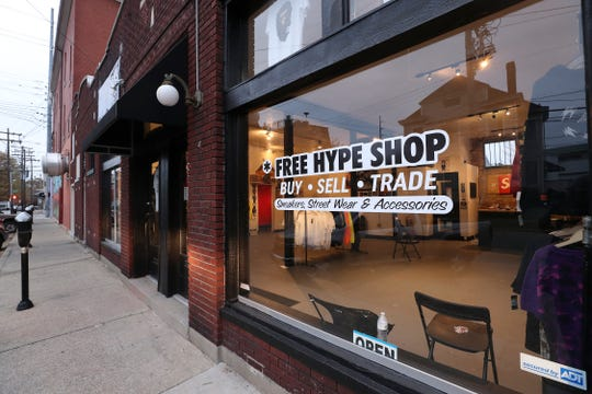 The Free Hype Shop sells vintage apparel in Louisville.
