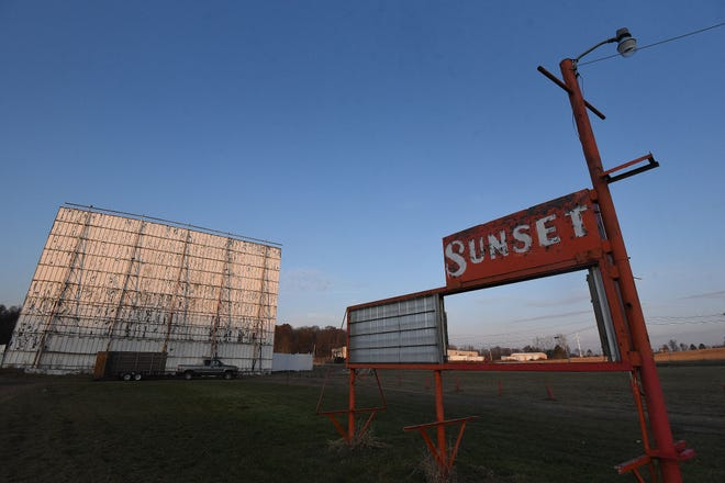 The Sunset Drive-In will soon be the home to a Shelby-area barn salvage business.