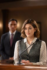 """""""Perfect Day"""" Episode 110: Jimmy Smits as Elijah Strait and Caitlin McGee as Sydney Strait"""