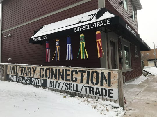 Military Connection, 723 Milwaukee Ave. in South Milwaukee is looking to expand making it one of the largest war relic stores in the Midwest.