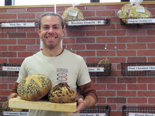 Matt Reich bakes his breads with just the basics, no additives, and sells them at farmers markets.