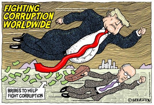 Trump and Giuliani fight corruption.