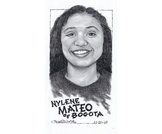 Nylene Mateo, Bogota volleyball