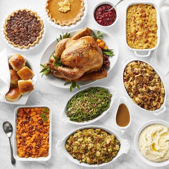 Thanksgiving feast, courtesy of Red Cedar Market in Ho-Ho-Kus