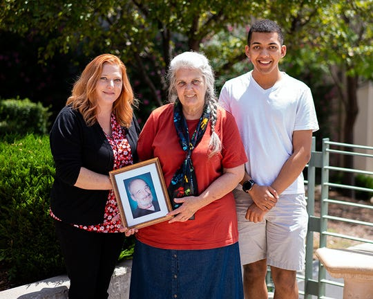 Pictured are family members of Tadeusz Westawic, whose life inspired a new named scholarship with the WNMU Foundation.
