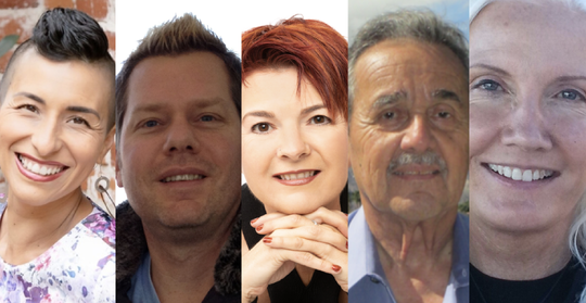 Monique Gaffney, Winston Gieseke, Marianne Emma Jeff, Manny Sepulveda and Debbie Carrillo will take the stage on Wednesday, December 4, 2019 to share stories of 'new beginnings' for Coachella Valley Storytellers Project.