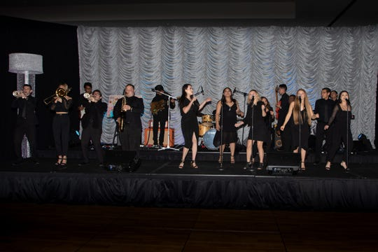 Citrus College Nightshift Orchestra performed for the crowd.