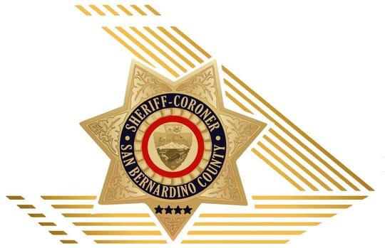 San Bernardino County Sheriff's Department logo.