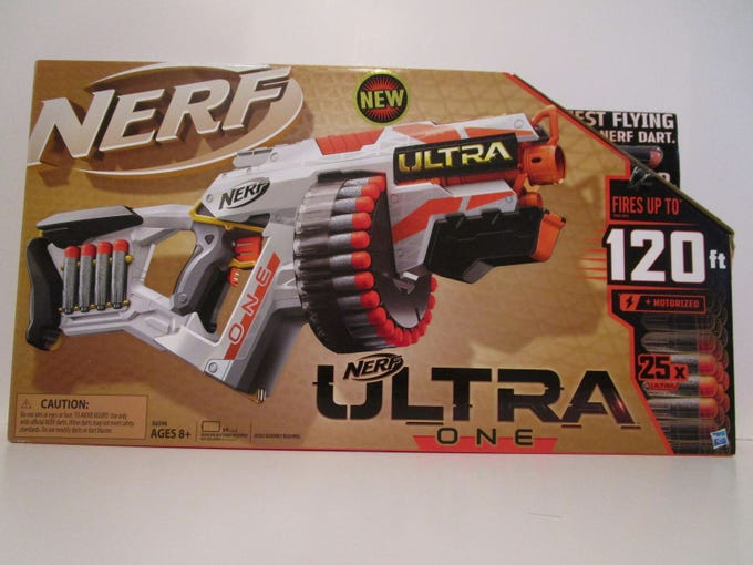 The Nerf Ultra One made WATCH's worst toys of 2019.