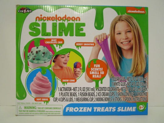 Nickelodeon Frozen Treats Slime made WATCH's worst toys of 2019.