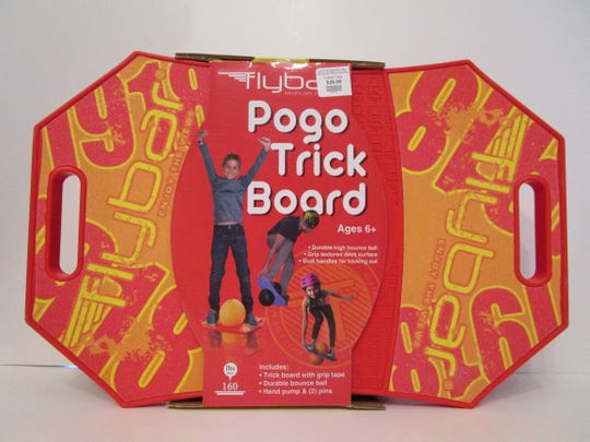 The Pogo Trick Board made WATCH's worst toys of 2019.