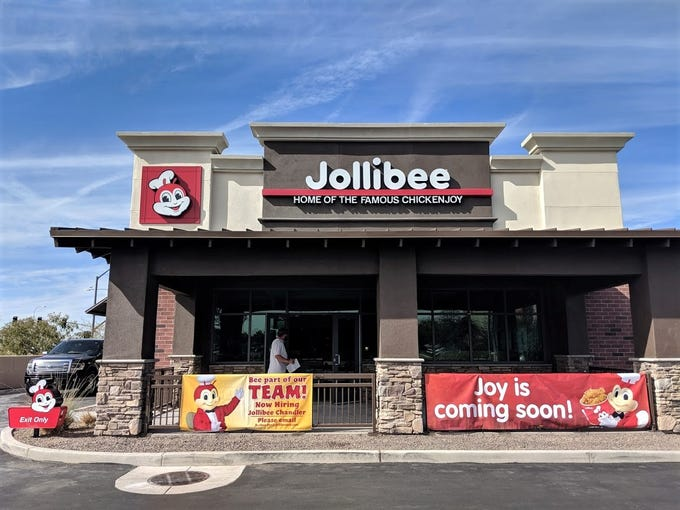 Jollibee, a fast-food chain from the Philippines, is set to open its first Arizona restaurant in Chandler.