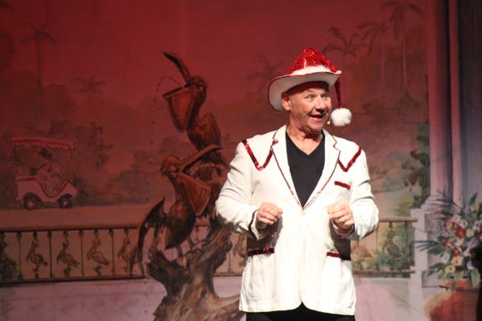 "Rick Compton in ""Assisted Living: The Musical — THE HOME for the Holidays."""