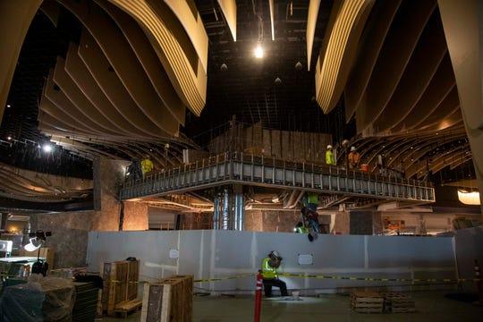 El nuevo casino mide más del doble de tamaño que el provisional que se encuentra en funciones ahora.