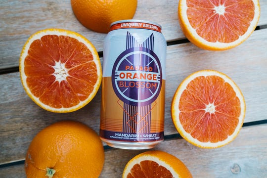 Papago Orange Blossom's new can celebrates the beer's 15 year anniversary.