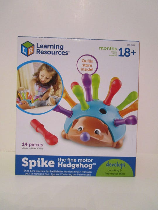 Spike the Fine Motor Hedgehog made WATCH's worst toys of 2019.