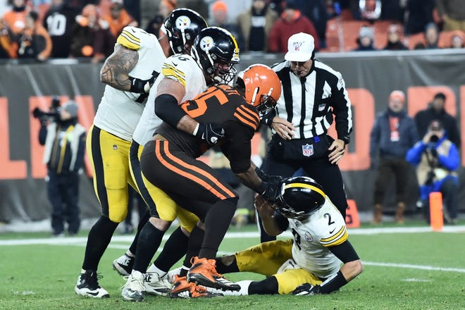 The Steelers will play the Browns on Sunday for the first time since the altercation between Cleveland defensive end Myles Garrett and Pittsburgh quarterback Mason Rudolph. But it will also be a significant test for the undefeated Steelers, as the Browns enter the game with a 4-1 record.