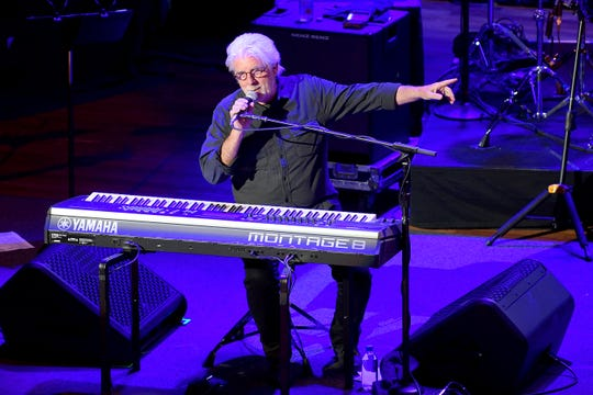 Michael McDonald performs with the Doobie Brothers at The Ryman  on November 18, 2019 in Nashville, Tennessee.