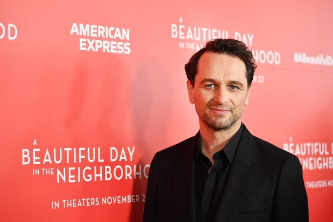 """Matthew Rhys attends a screening of his film """"A Beautiful Day In The Neighborhood"""" on Nov. 17, 2019, in New York City."""