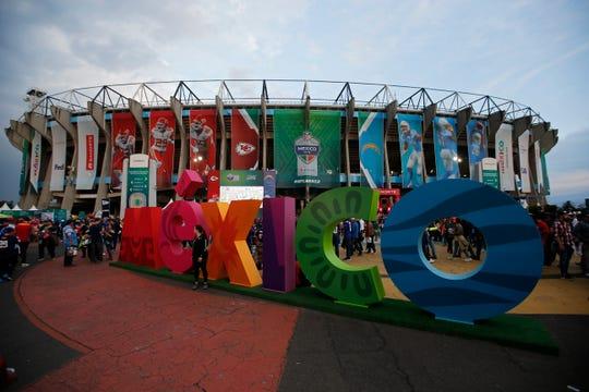 El Estadio Azteca albergó un partido de temporada regular de la NFL por 4ta ocasión.