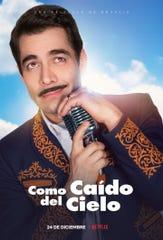 """Omar está muy orgulloso de haber tenido la oportunidad de protagonizar """"Como Caído del Cielo"""", porque Pedro Infante, en quien está inspirada esta película, es su máximo ídolo como actor y cantante."""