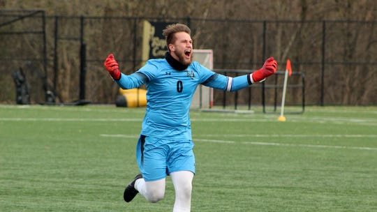 West York High School graduate Darian McCauley was named the Pennsylvania State Athletic Conference Men's Soccer Tournament Most Valuable Player over the weekend for Millersville University.