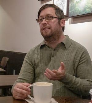Jason Querry says that North York Borough councilman Bill Jackson allegedly said homophobic slurs toward Querry, who ran against Jackson for borough council.Monday, November 18, 2019.John A. Pavoncello photo