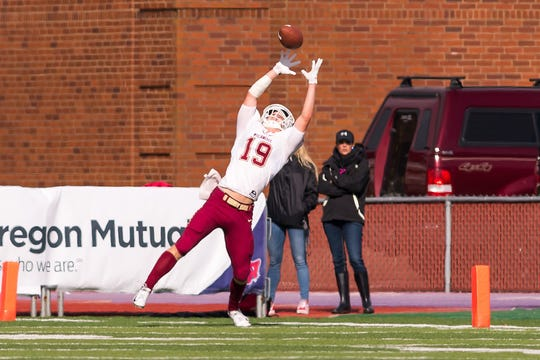 Willamette University plays Linfield College in McMinnville, Oregon on October 19, 2019. Pictured: Max Andersen (Photo: Robert White)