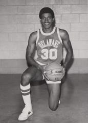 Ken Luck played college basketball at the University of Delaware.
