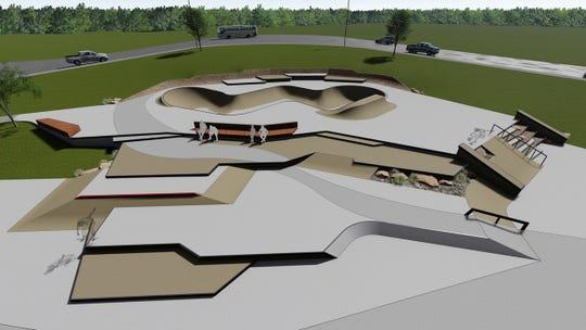 Professional skateboarder and skatepark designer Kanten Russell is the designer behind the planned skatepark the Sioux Falls Skatepark Association is fundraising for at Nelson Park.