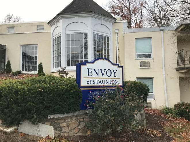 Envoy of Staunton skilled nursing and rehabilitation center located on 512 Houston St. in Staunton, Virginia, is owned by Consulate Healthcare. Photograph taken on Tuesday, Nov. 19, 2019.