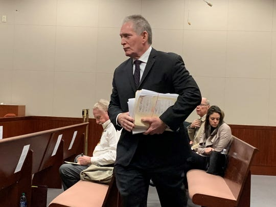 Fort Lauderdale psychologist Michael Brannon testified as a state rebuttal witness Nov. 19, 2019 during the Michael Jones penalty phase at the Indian River County Courthouse.