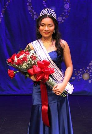 Amanda Stellwag was crownedMiss Holly City 2019-2020.