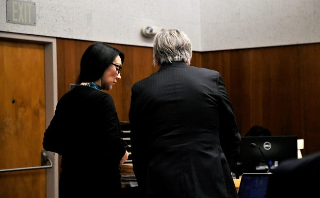 Erika Sandoval's trial is nearing an end. Dan Chambers gave his closing arguments on Tuesday, November 19, 2019.