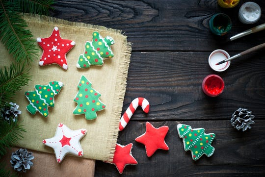 A variety of churches throughout Delaware host cookie walks in December.