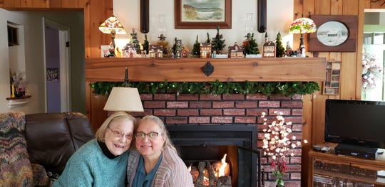 Kelly (McCarthy) Sommer and her mom, June
