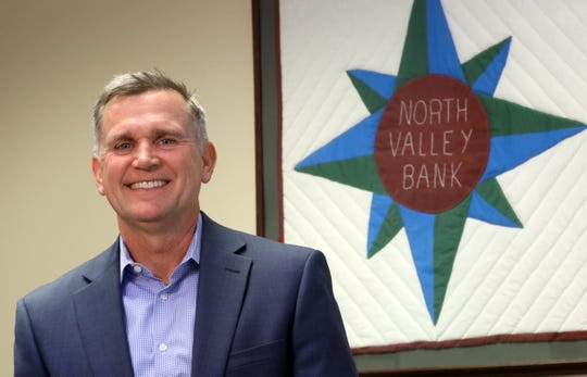 Lancaster native and Muskingum University graduate Jim Nicholson is president and CEO of North Valley Bank.