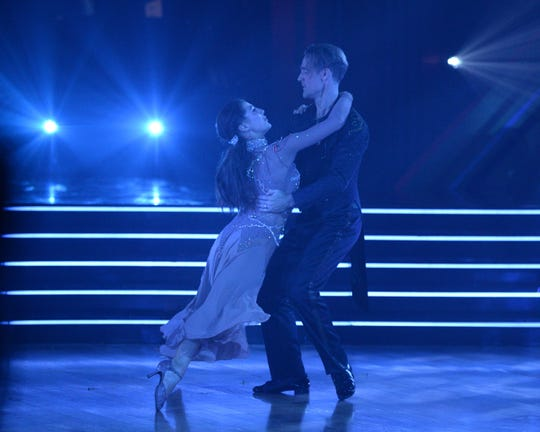 Emma Slater and James Van Der Bake dance their last tango.