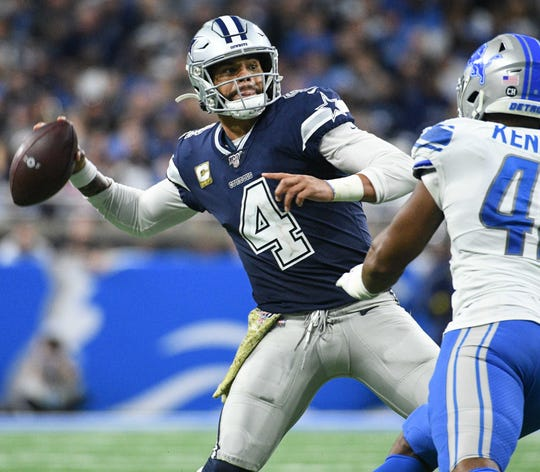 9. Cowboys (10): Dak Prescott is scalding, on track to be first Dallas passer to surpass 5,000 passing yards in a season. Pay the man for your own sake, Jerry.
