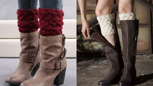 These stylish warmers can help fill in gaps between your legs and boots and are a winter must-have.