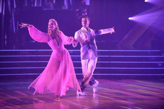 Lauren Alaina and Gleb Savchenko danced their final number on Monday night.