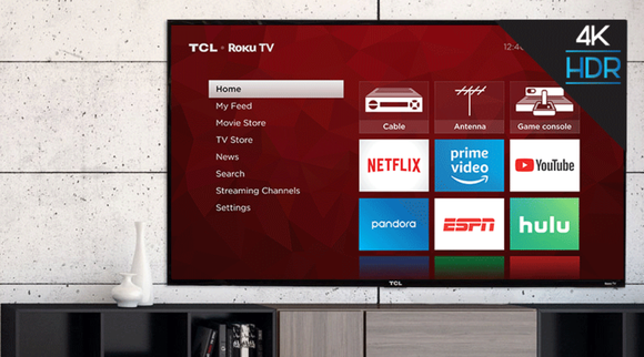 A remote is included with your purchase, or you can control the TV via the Roku mobile app for iOS and Android devices.