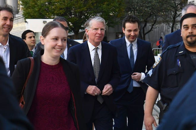 New York District Attorney Cyrus Vance  arrived in October for a federal court hearing on his efforts to get several years of tax returns from President Donald Trump's longtime accounting firm.