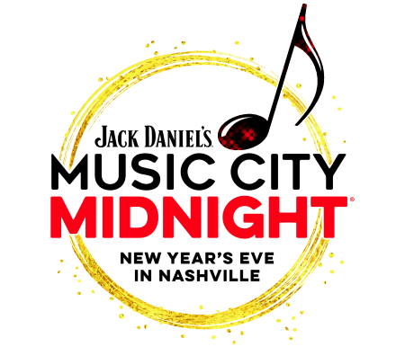 Jack Daniel's Music City Midnight New Year's Eve in Nashville Logo