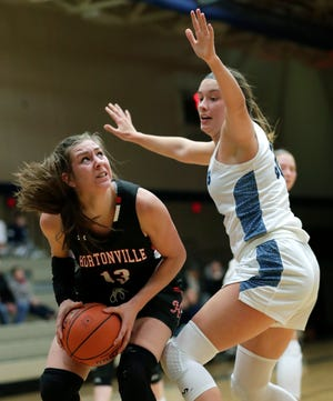 Hortonville star forward Macy McGlone joined the R&B Show podcast to talk about the abrupt ending to her team's season due to the COVID-19 pandemic. Dan Powers/USA TODAY NETWORK-Wisconsin