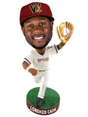 Lorenzo Cain is among the Milwaukee Brewers who'll get Wisconsin Timber Rattlers bobbleheads in 2020.