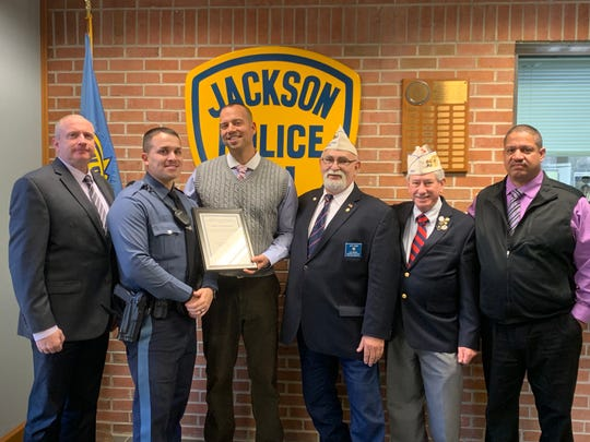 Jackson Police Department awarded by the Jewish War Veterans for an anti-Semitic arrest