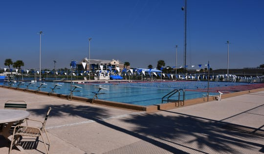 The Cocoa YMCA's outdoor swimming pool is one of the few Olympic-sized swimming pools in Brevard County. But it needs repairs to fix it leaks.