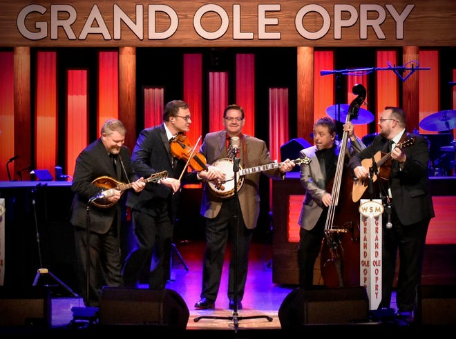 Grand Ole Opry stars Joe Mullins & the Radio Ramblers, 2019 Bluegrass Entertainers of the Year, will perform at Stage 12 inside the Titusville Mall Cinema on Sunday, Dec. 1.
