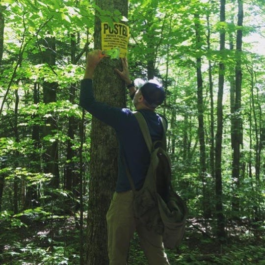 To close their land off to hunters, Vermonters must post signs every 400 feet along the perimeter of their property. For those who own hundreds of acres or have limited mobility, the task can be difficult or even impossible.